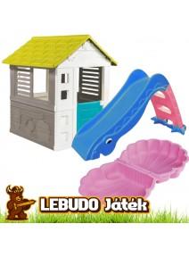 LEBUDO Játék - Otthoni Játszótér játék csomag - Több színben