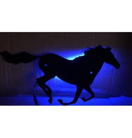 Lovas LED Lámpa - Bluetooth Vezérléssel - Több Színben