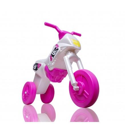 Motokidz - Enduro Motor - Gyöngyház fehér-Rózsaszín - Mini