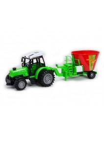 Nagy Traktor Takarmánykeverővel - 60 cm - Több Színben