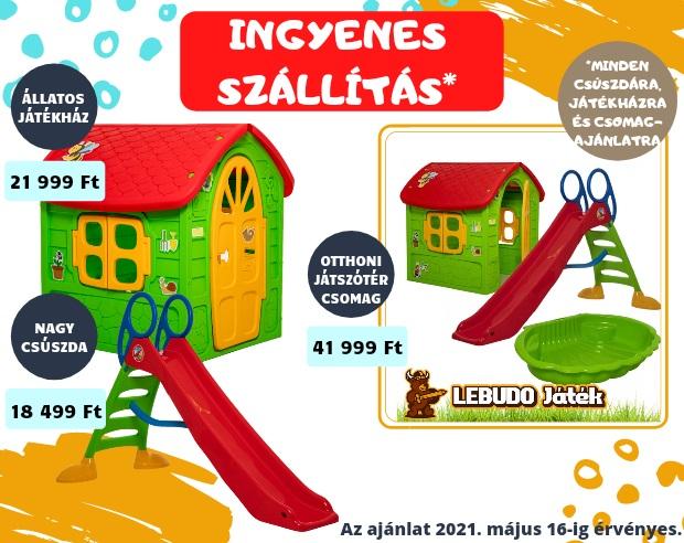 LEBUDO Játék - Játékház, Gyerek játszóház